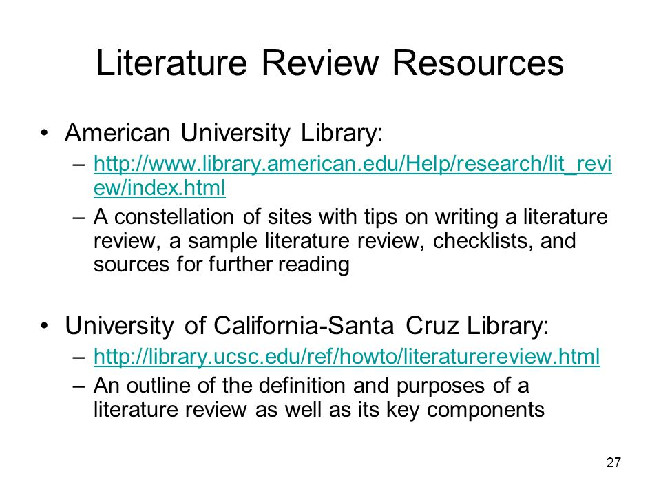 What Is A Literature Review And How Do I Write One Ppt Video