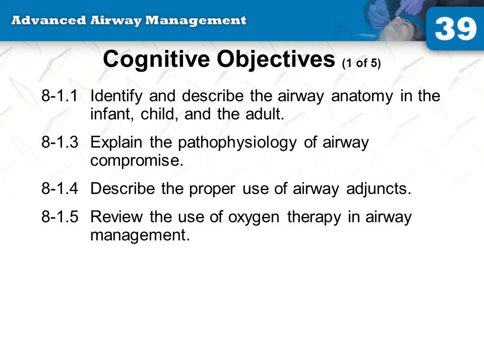 39: Advanced Airway Management - ppt video online download