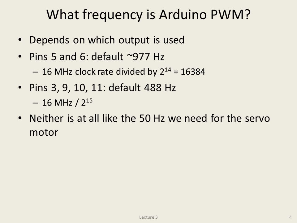 Physics 120B: Lecture 3 Motors: Servo