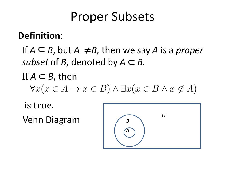 Basic structures sets functions sequences sums and matrices 21 proper subsets ccuart Choice Image