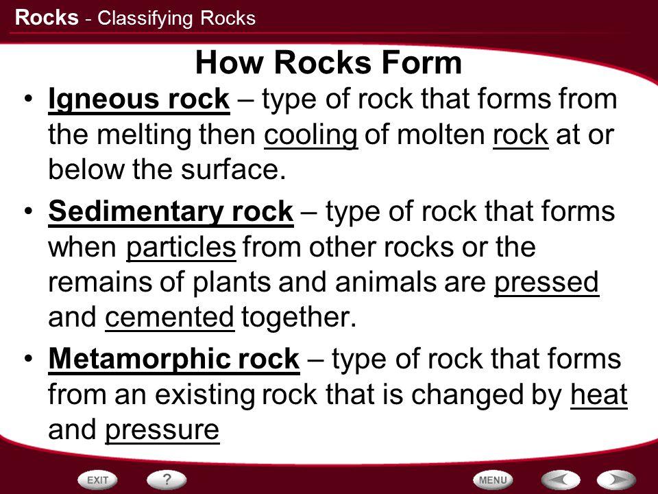 Printable Worksheets igneous rocks worksheets : Table of Contents Classifying Rocks Igneous Rocks Sedimentary ...