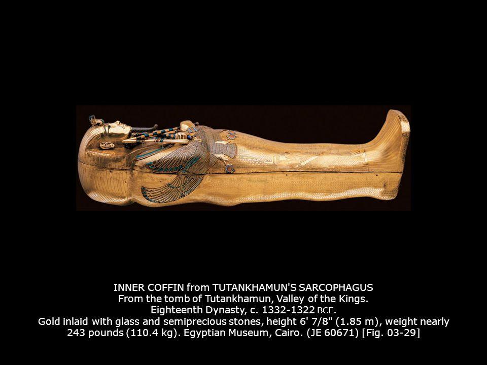 function of tutankhamuns inner coffin
