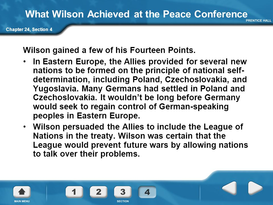 What Wilson Achieved at the Peace Conference