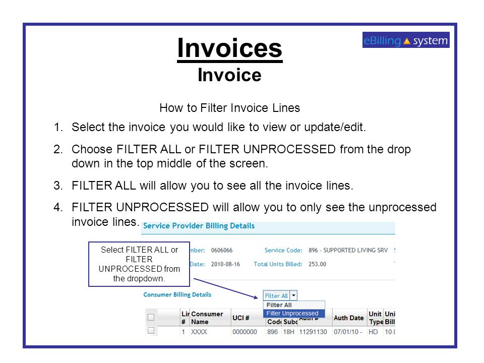 EBilling Training Invoicing Ppt Video Online Download - Invoice 4 you