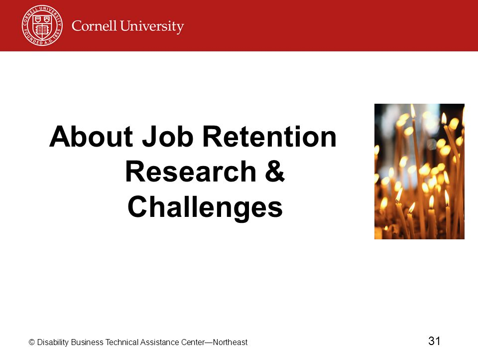 About Job Retention Research & Challenges