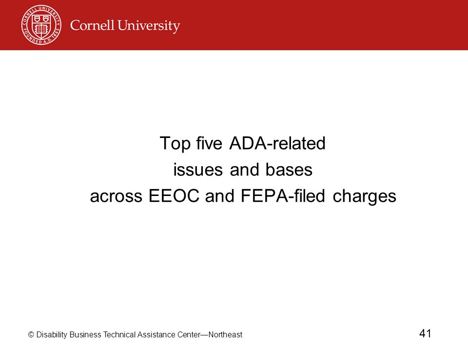 across EEOC and FEPA-filed charges