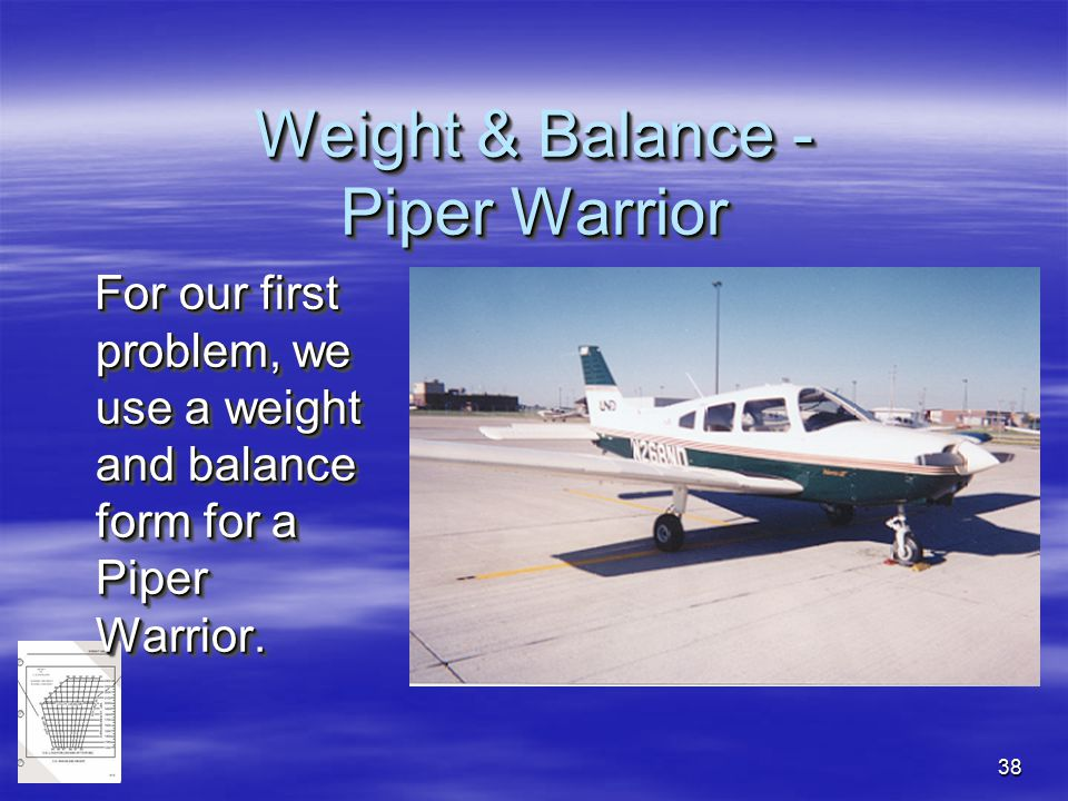 Weight and balance. Ppt video online download.