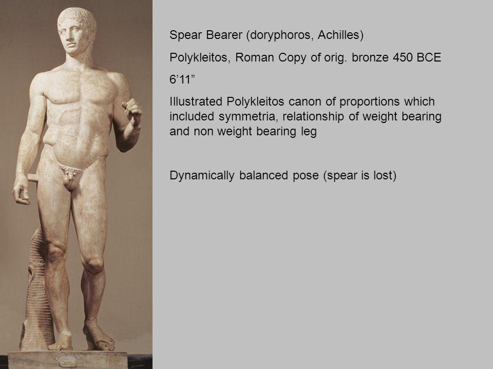 doryphoros spear bearer