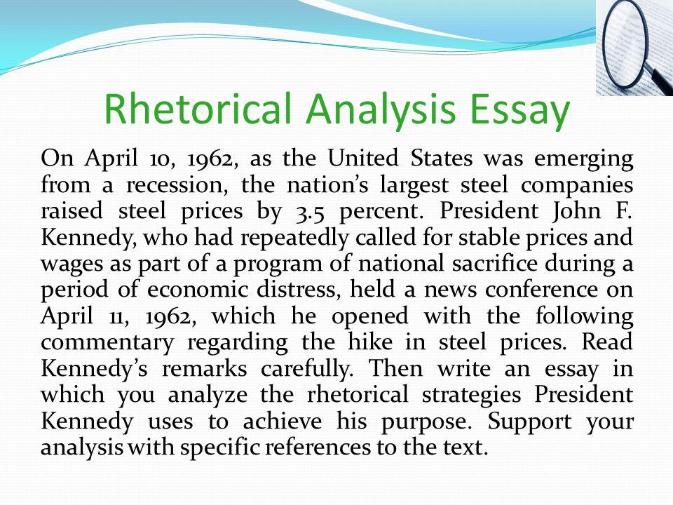 Buy rhetorical analysis paper