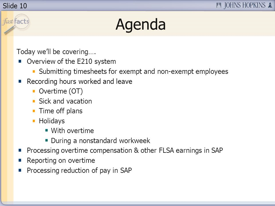 Agenda Today we'll be covering…. Overview of the E210 system