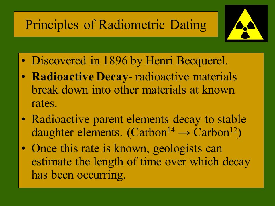 What type of rock is best for radioactive dating