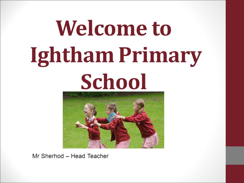 Welcome to Ightham Primary School