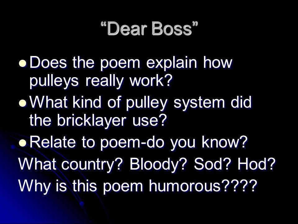 the pulley poem essay
