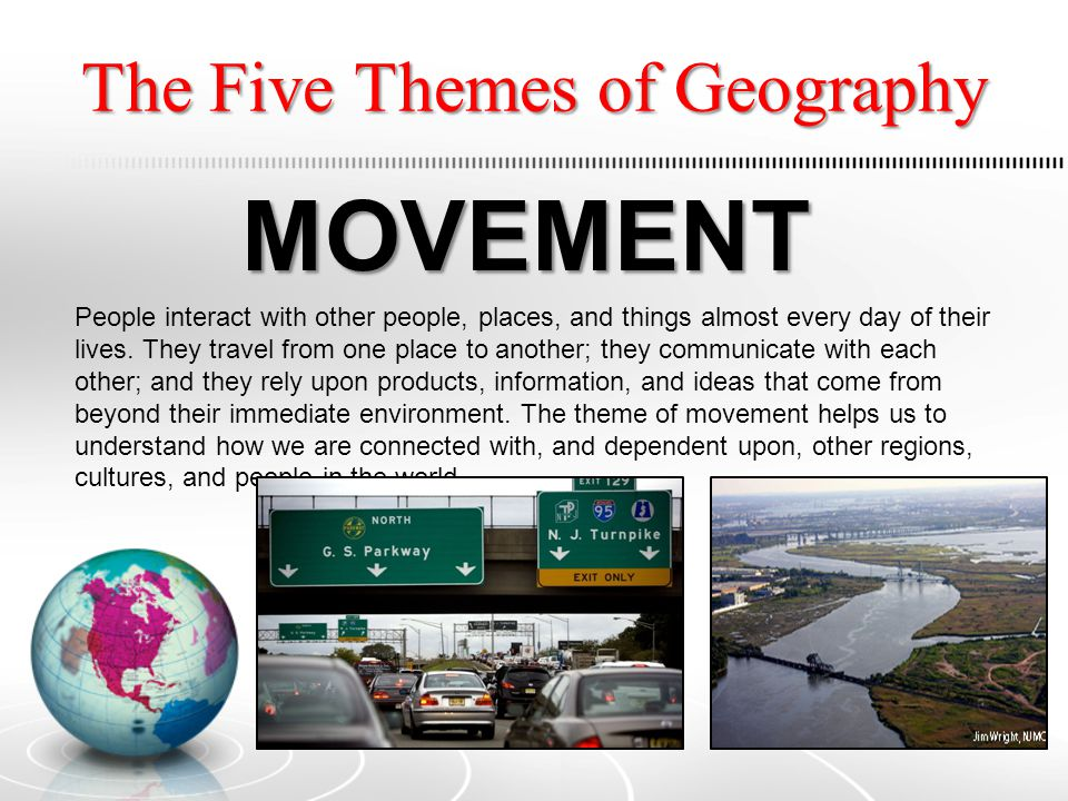 the five themes in geography essay Read 5 themes of geography free essay and over 88,000 other research documents 5 themes of geography location there are two types of location there is absolute location witch is the exact.