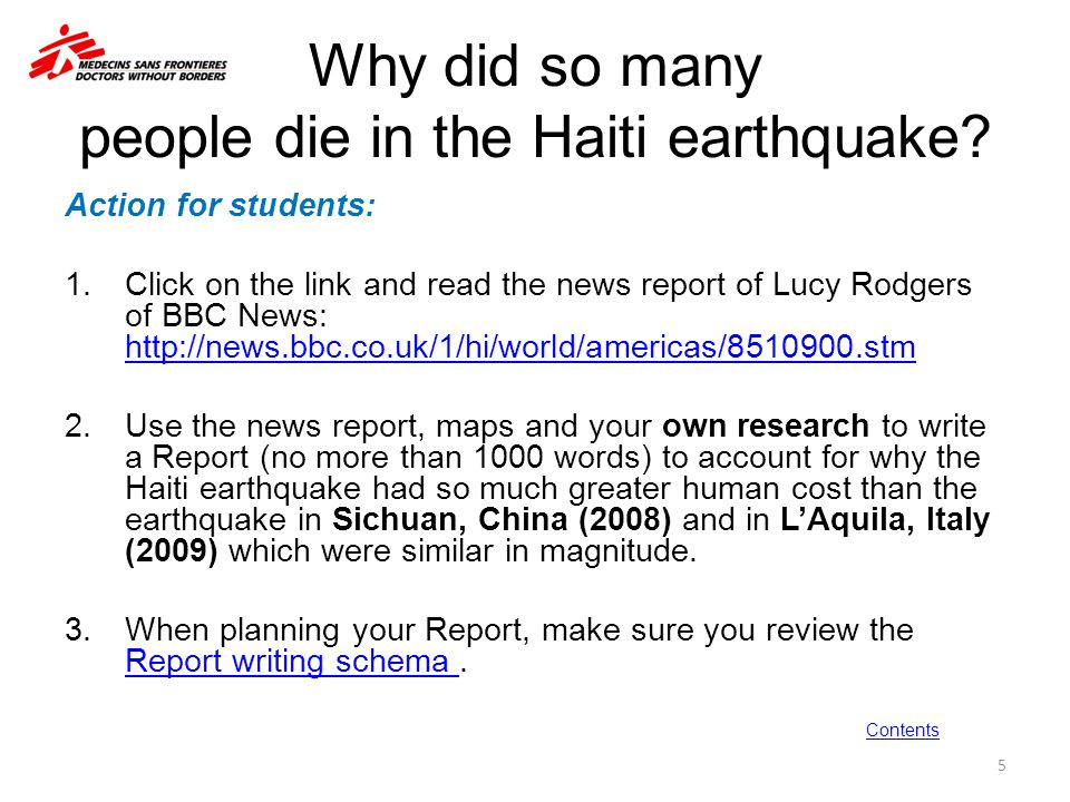 PART II – SECTION THREE Tectonic hazards: human impacts