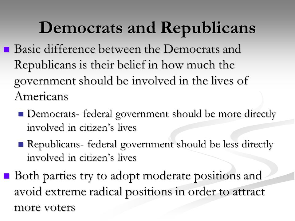 Chapter 9 section 1 development of political parties answers