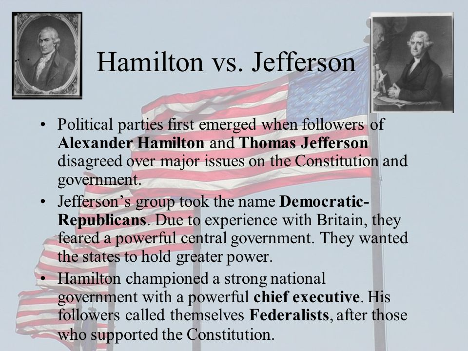 Development of American Political Parties - ppt video online download