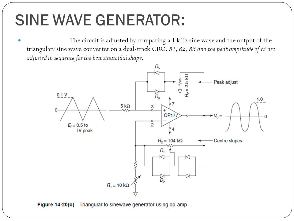 Electronic instruments ppt download 38 sine publicscrutiny Choice Image