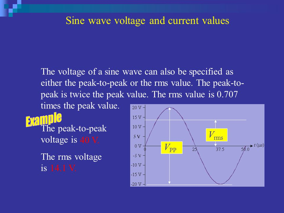 rms value definition in electrical pdf