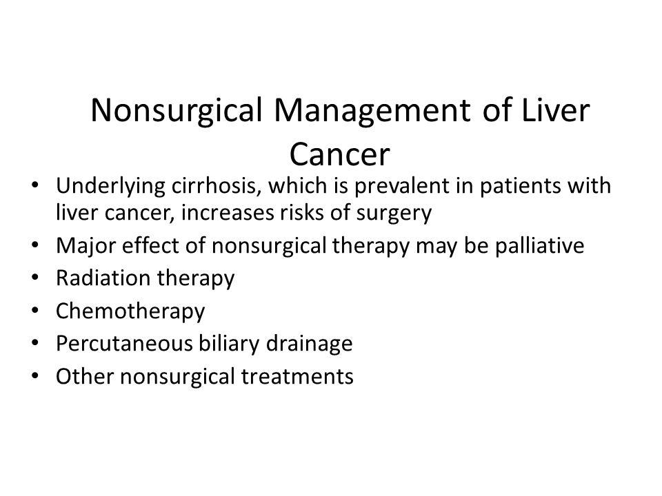 cancer hepatic nursing)