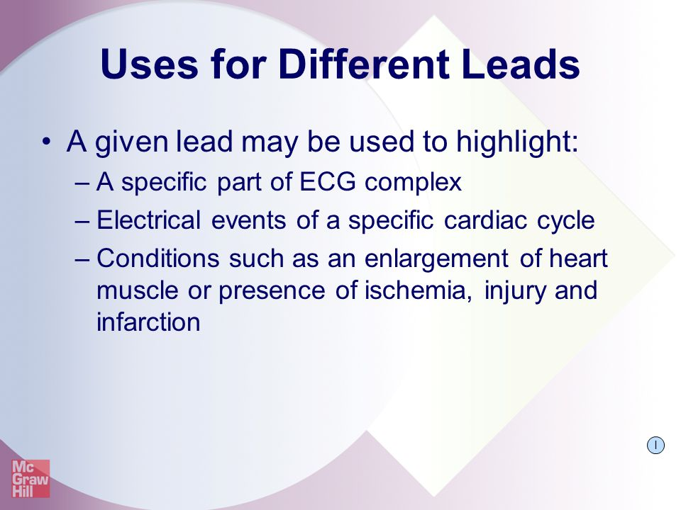 Uses for Different Leads