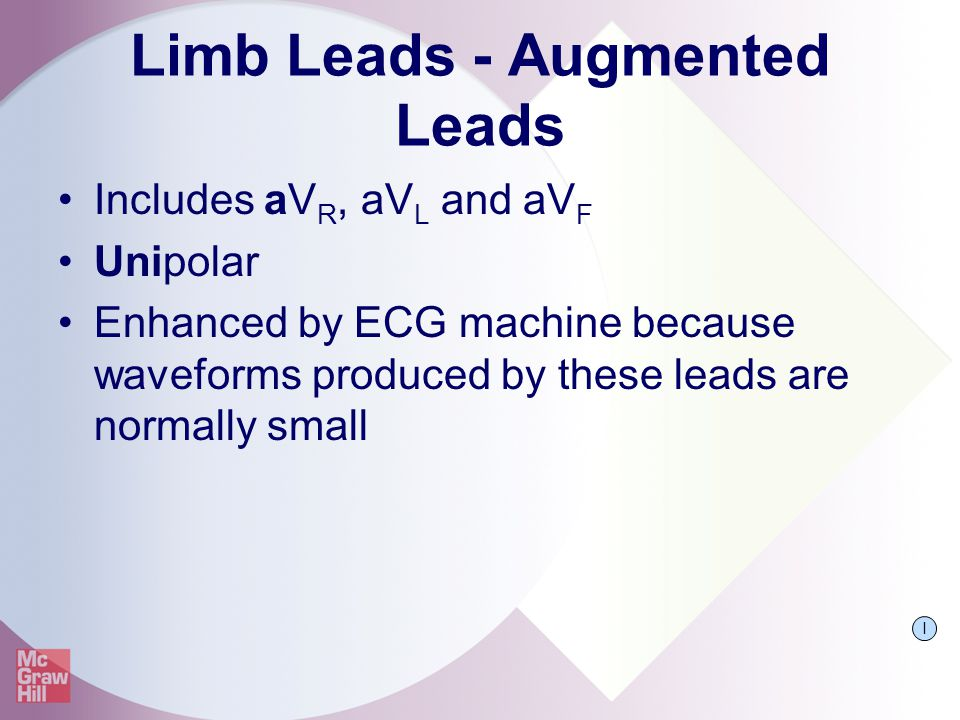 Limb Leads - Augmented Leads