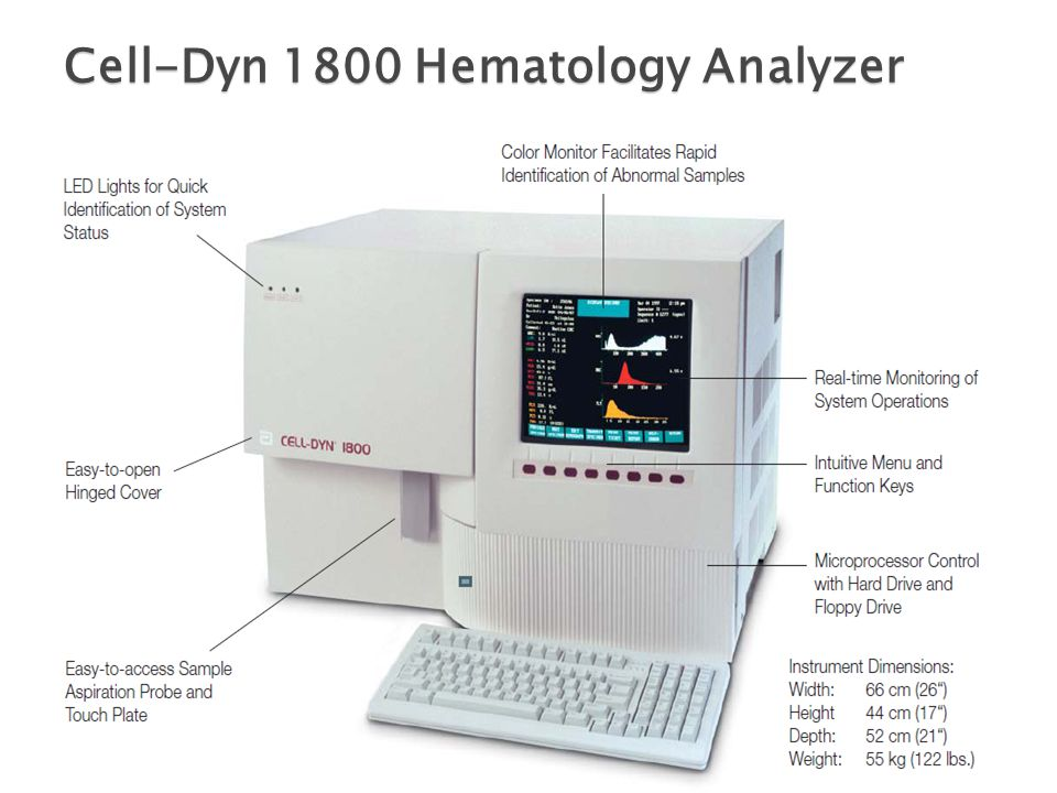 automated hematology cell counters ppt video online download rh slideplayer com cell dyn 1800 manual pdf español cell dyn 1800 manual pdf español