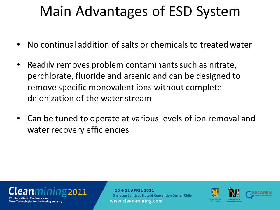 Main Advantages of ESD System