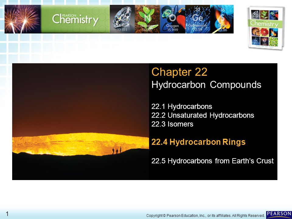 Chapter 22 Hydrocarbon Compounds 22.4 Hydrocarbon Rings