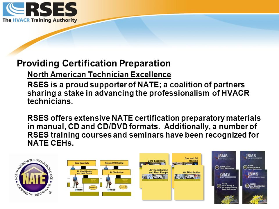 Rses The Hvacr Training Authority Ppt Video Online Download