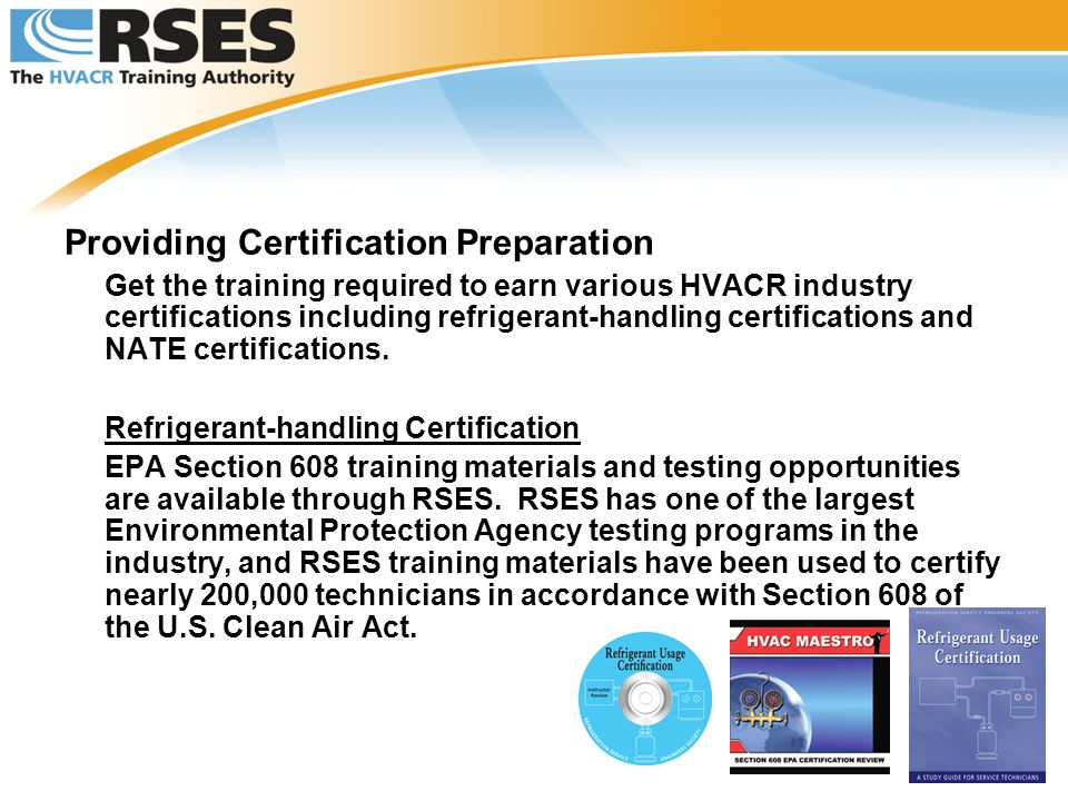 RSES – The HVACR Training Authority - ppt video online download