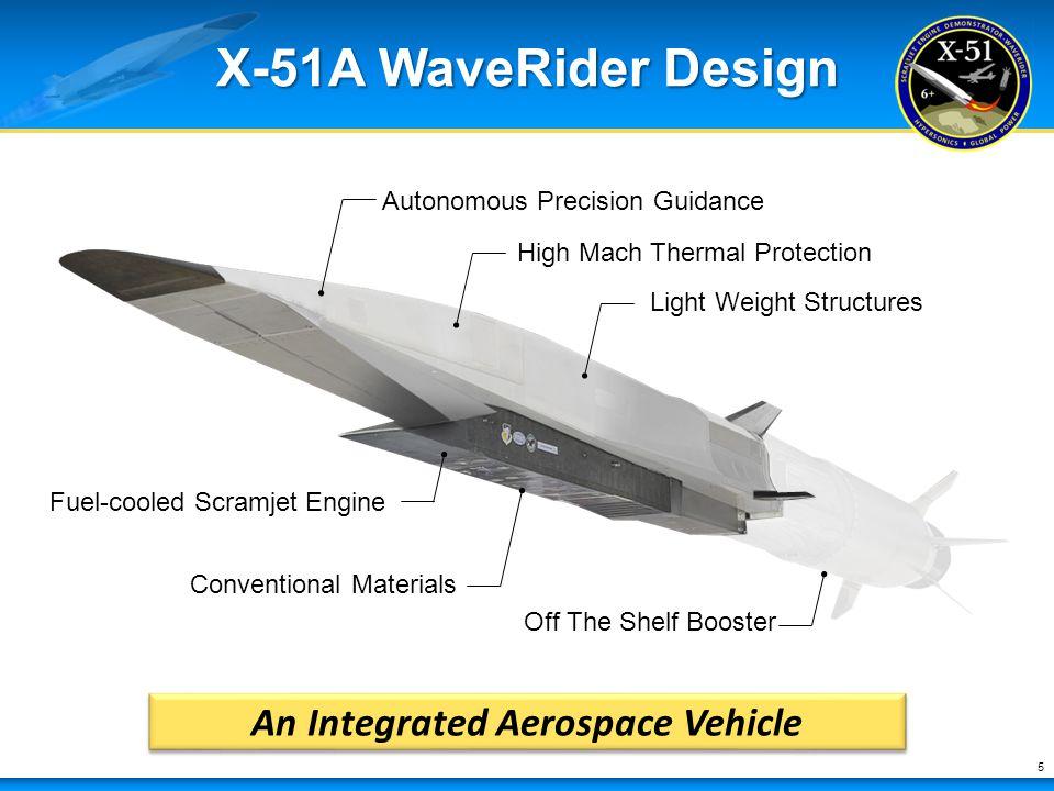 .محرك scramjet من Northrop Grumman  ينتج قوة دفع قياسية في الاختبار An+Integrated+Aerospace+Vehicle