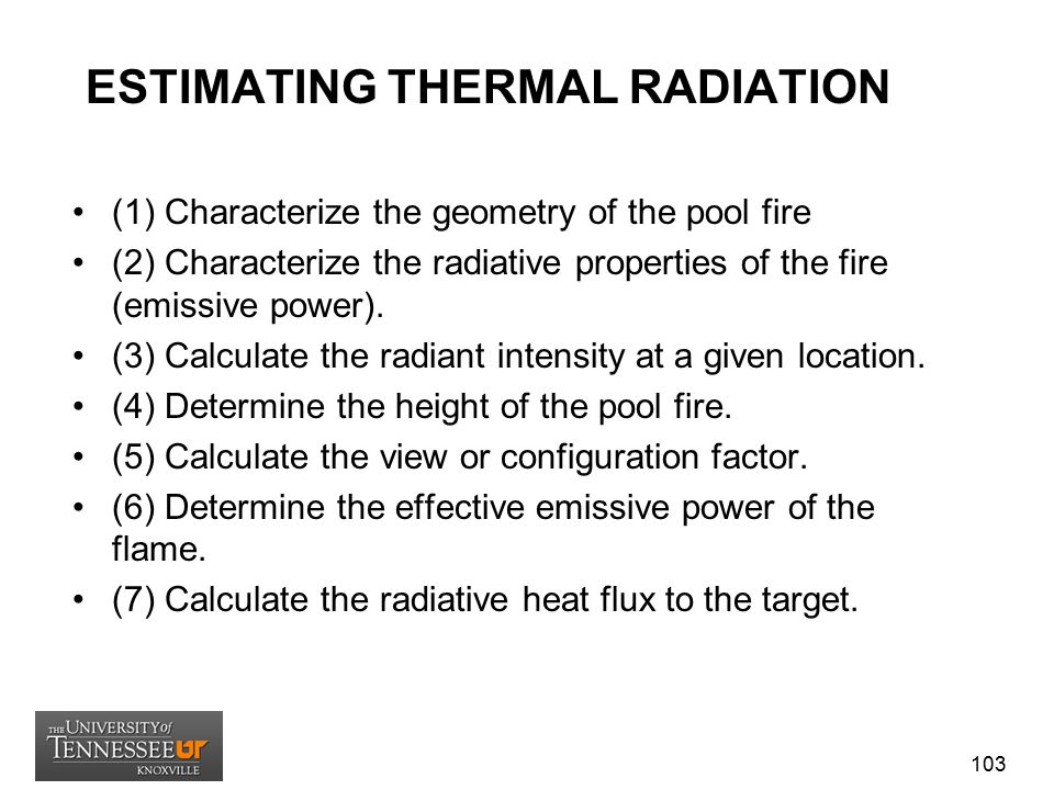 ESTIMATING THERMAL RADIATION