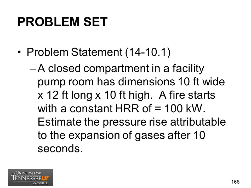 PROBLEM SET Problem Statement (14-10.1)