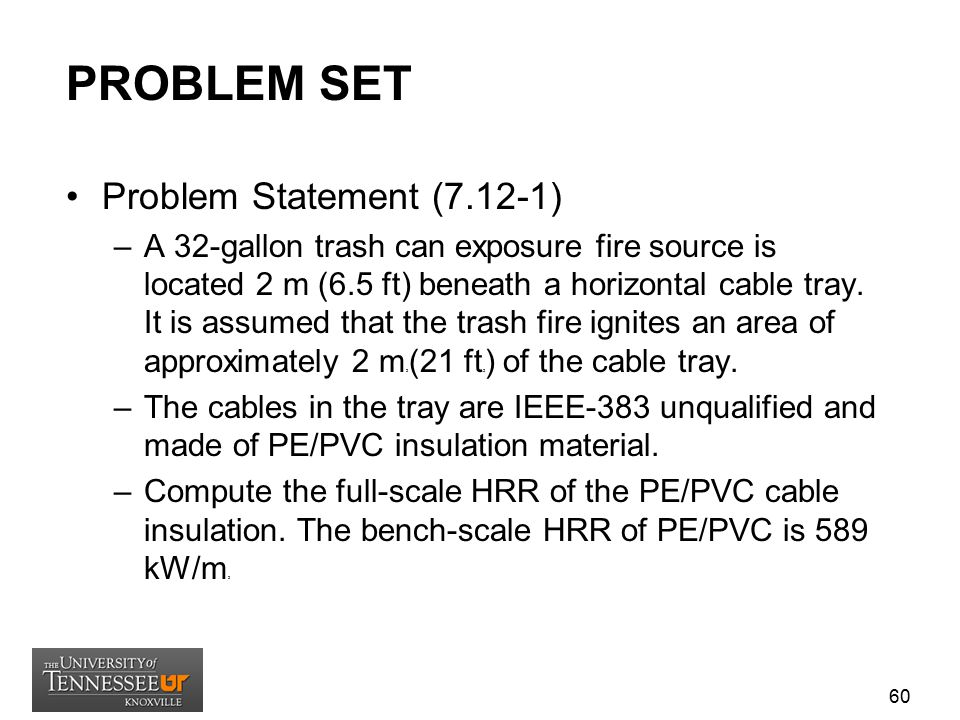 PROBLEM SET Problem Statement (7.12-1)