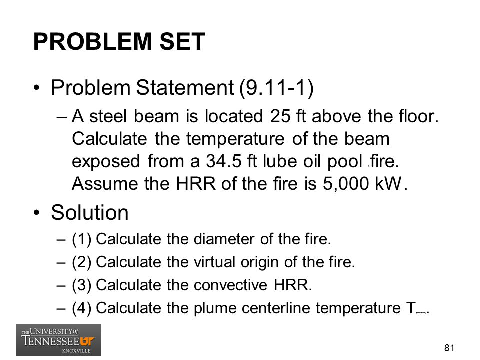 PROBLEM SET Problem Statement (9.11-1) Solution