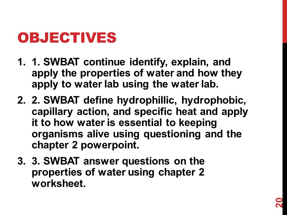 Water And It S Properties Ppt Download