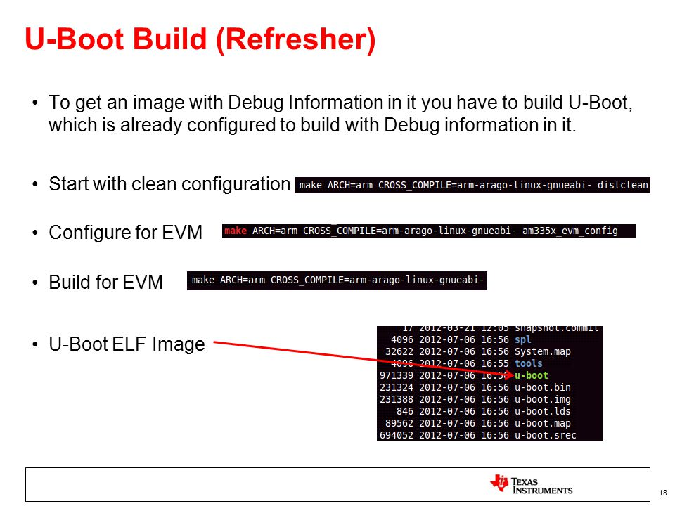 U-Boot and Linux Kernel Debug using CCSv5 - ppt video online
