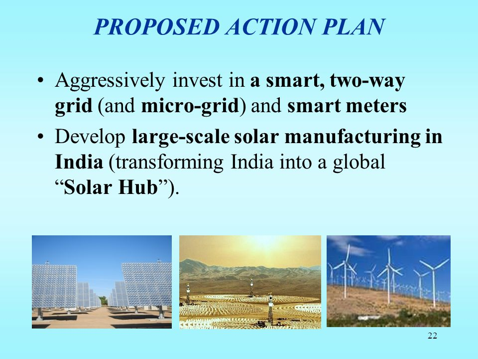 Renewable Energy Solutions For India - Action Plan - ppt video