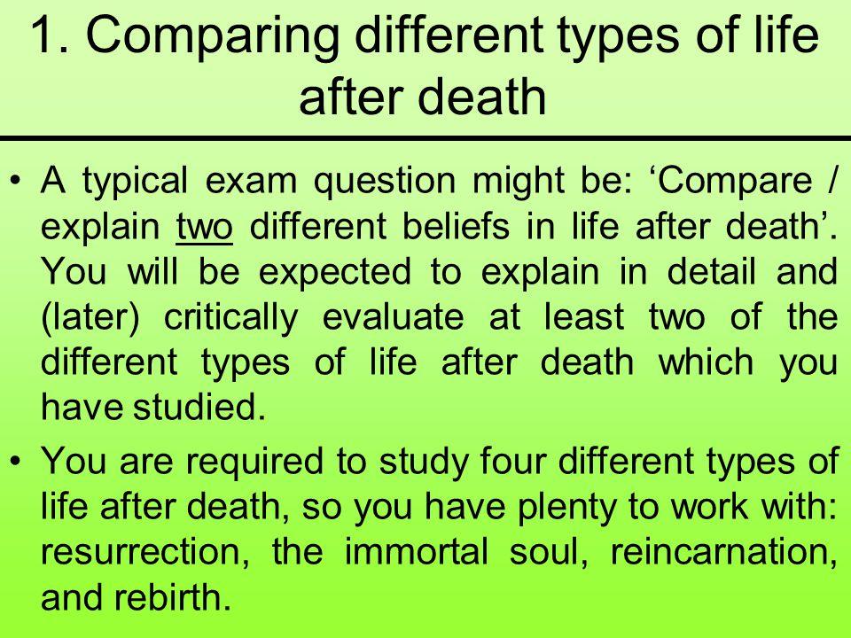 resurrection vs reincarnation
