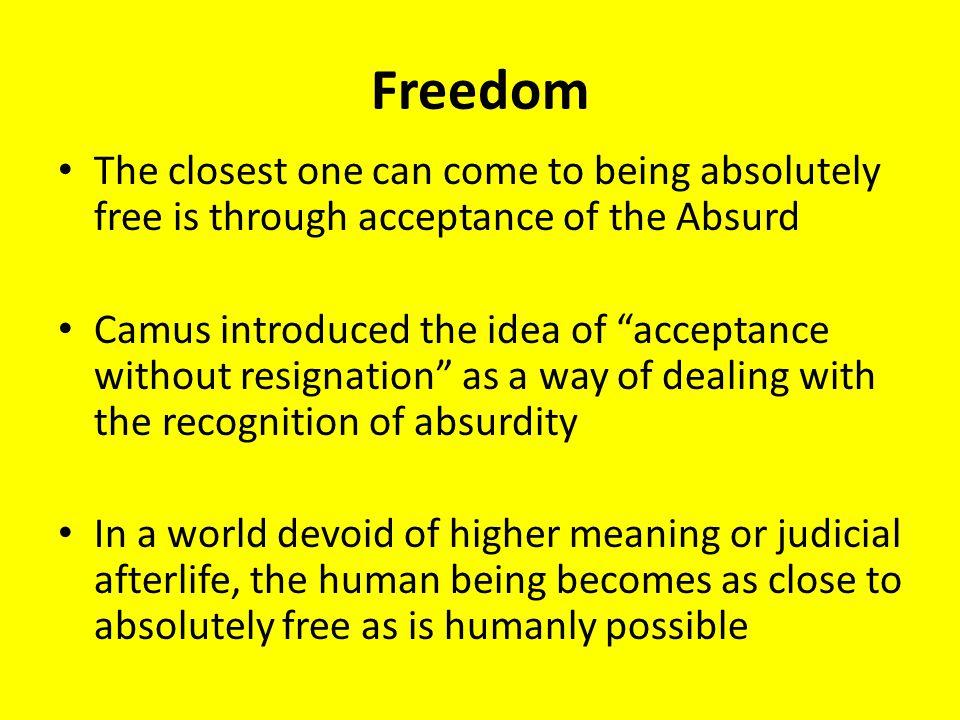 Absurdism  - ppt video online download