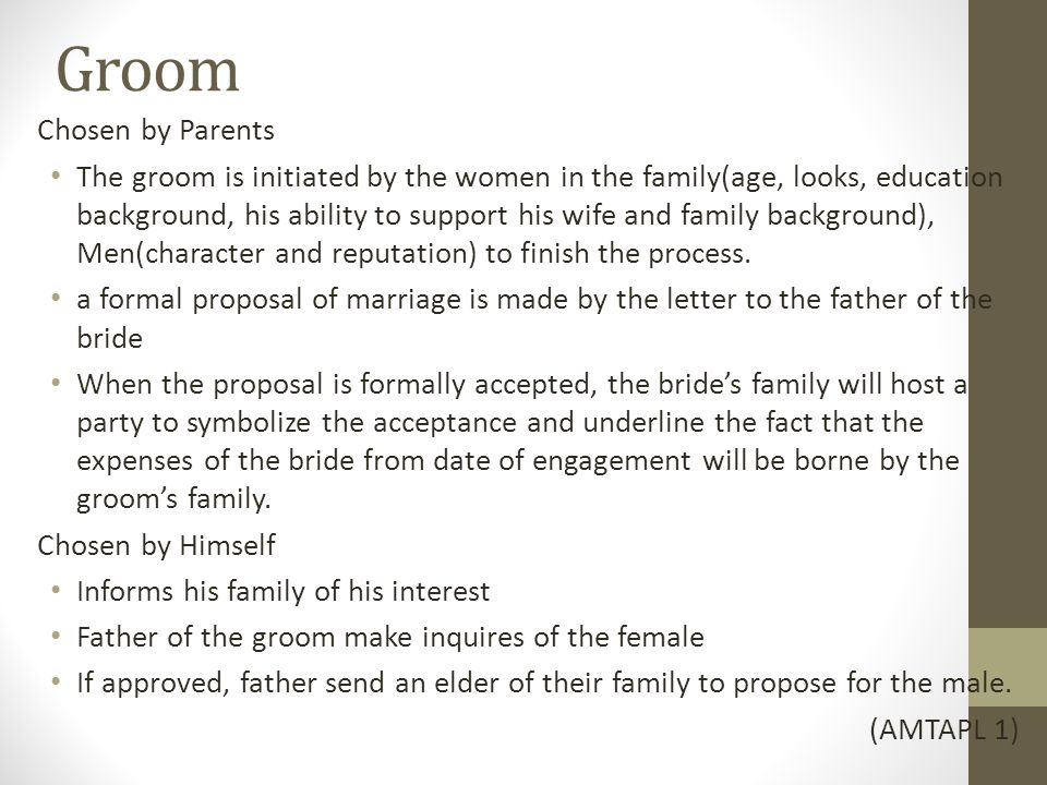 marriage proposal letter to father