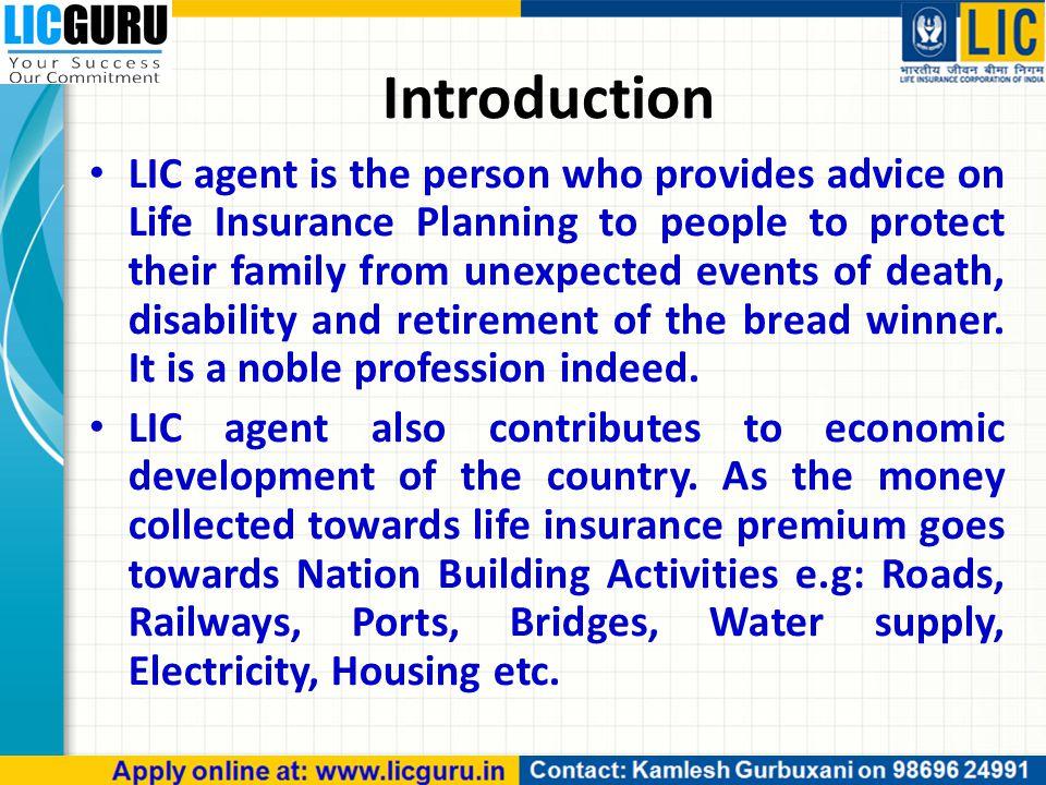role of insurance in economic development ppt