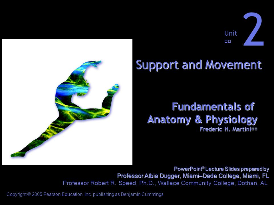 2 Support and Movement Fundamentals of Anatomy & Physiology Unit ...