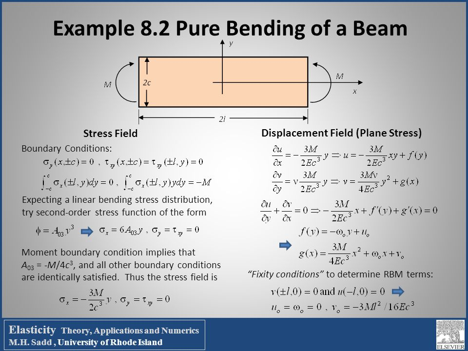 Chapter 8 Two-Dimensional Problem Solution - ppt video online download