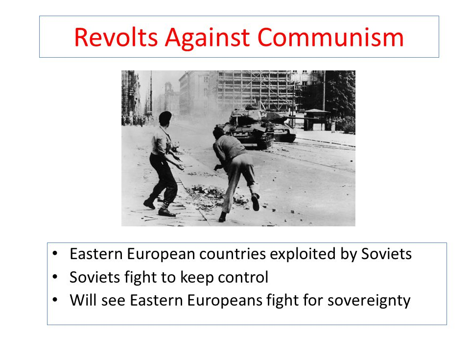 Revolts Against Communism