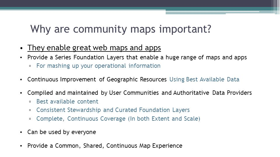 why are maps important and what are they used for