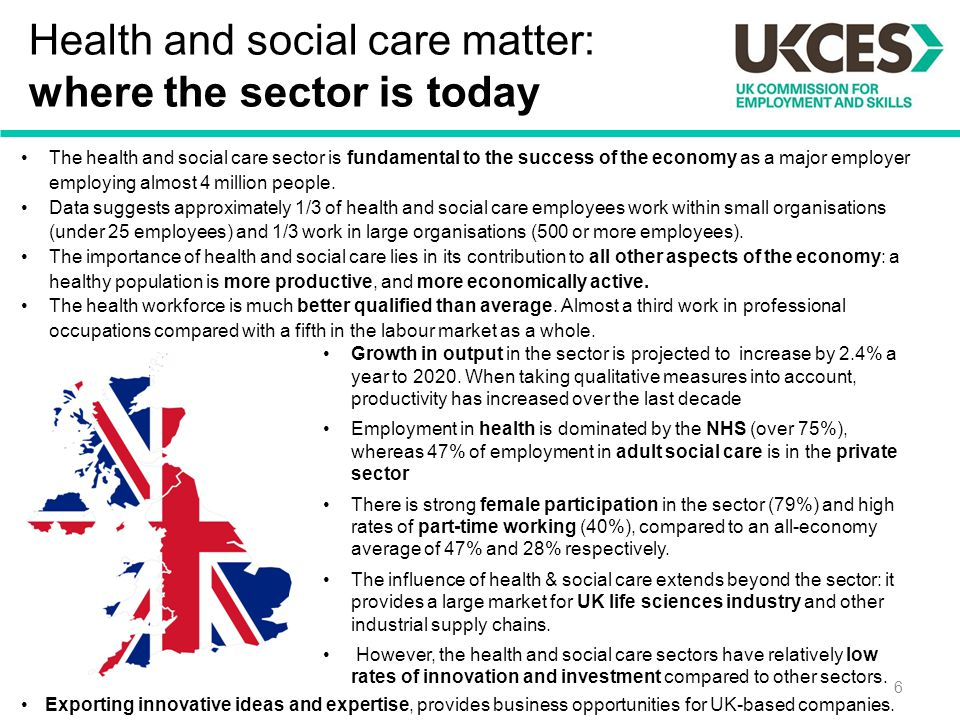 Health and social care matter: where the sector is today