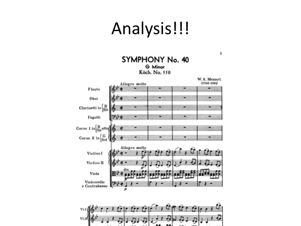 Analysis Section by section - ppt download