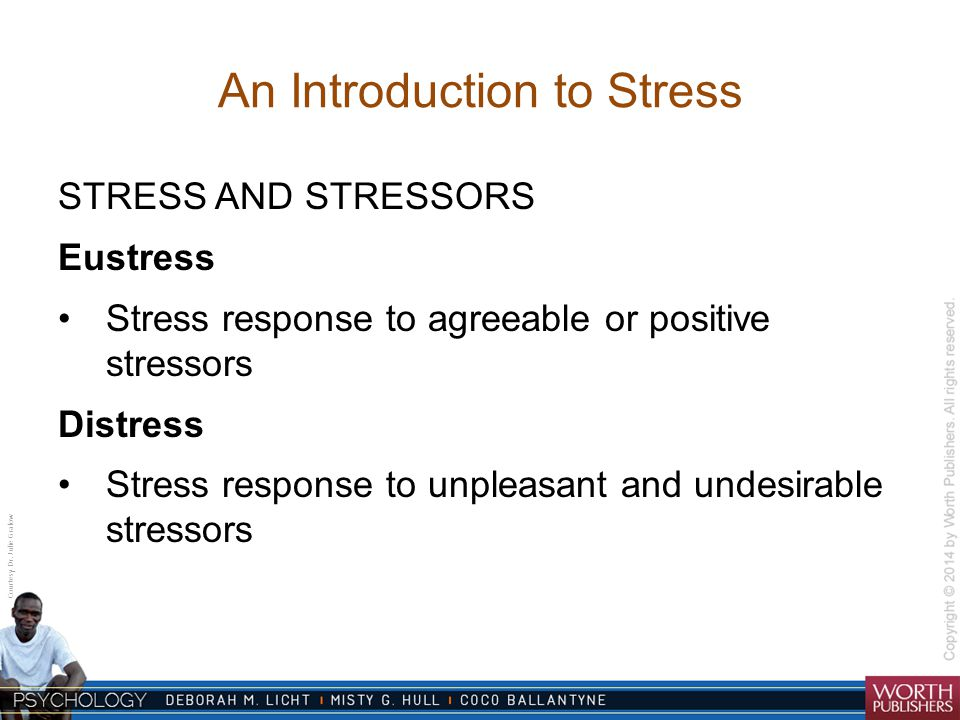introduction of stress
